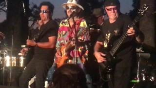 The smooth Sounds of Santana Tribute band Jungle Strut into Smooth at Parnell Park Whittier CA