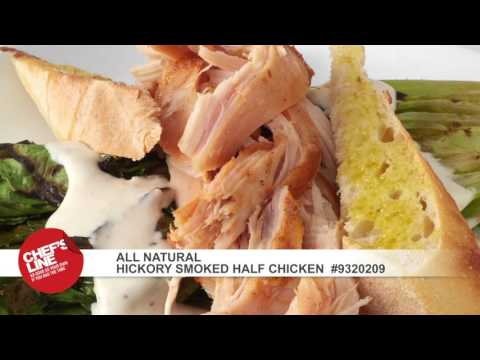 US Foods® Chef's Line® All Natural Hickory Smoked Half Chicken | US Foods | Scoop