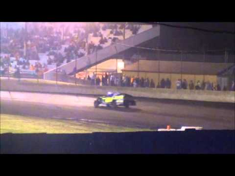 Algona Raceway Luke Wanninger Modified B Feature 7-1-14