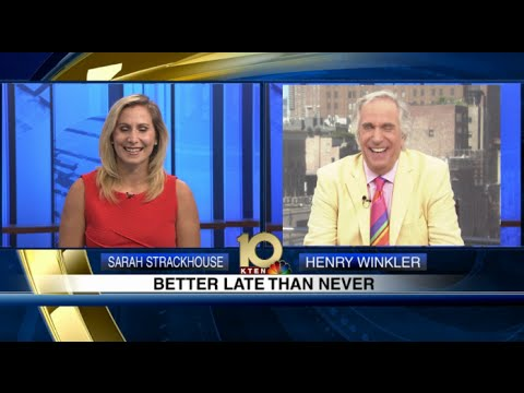 """Better Late Than Never"" Interview with Henry Winkler"