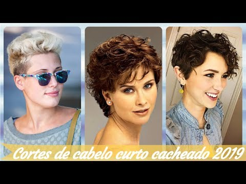 20 Ideias De Cortes De Cabelo Feminino Curto Cacheado