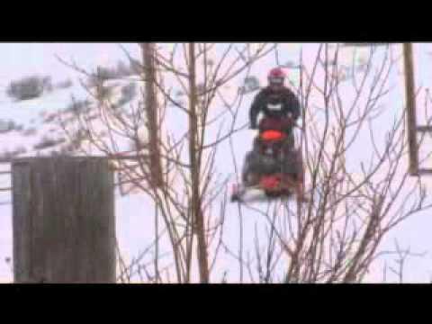 Snowmobile in Elko