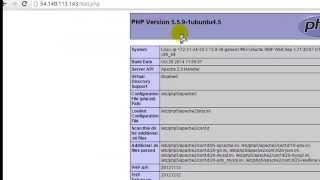 How to Install Lamp(Linux apache mysql php) in Ubuntu cloud server