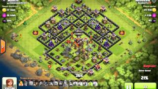 Clash of clans - Clashonaticos Insano / O ataque mais bizarro do mundo.