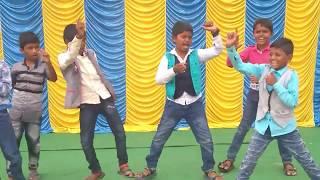Mama Ek Peg la Song Dance At Childrens Day Celebrations||Ushodaya Schools Chilamkur