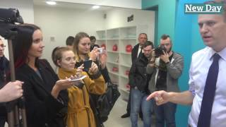 Навальный в Волгограде. Встреча с журналистами. 24.03.2017