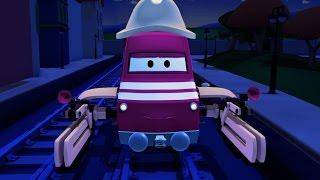 Поезд Трой и Отключение электричества в Автомобильный Город  Мультфильм для детей