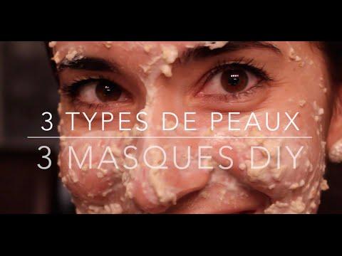 3 types de peaux - 3 masques DIY (Peau sensible)