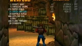 Duke Nukem Time to Kill: Gold and Guns (ps)