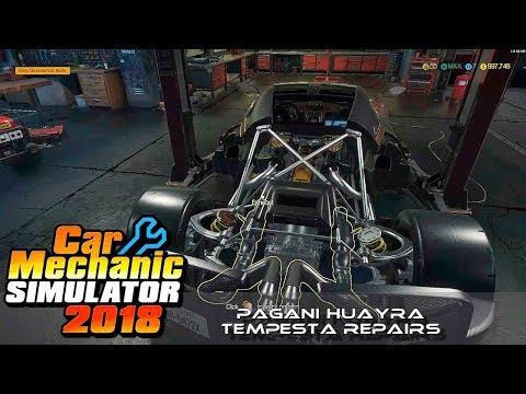 Car Mechanics Simulator 2018 ¦ Super Car Repairs ¦ Pagani Huayra Tempesta