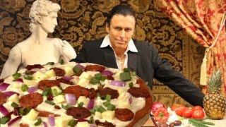 The Markus Incredipizza - Raw Vegan Gluten-free Healthy Pizza