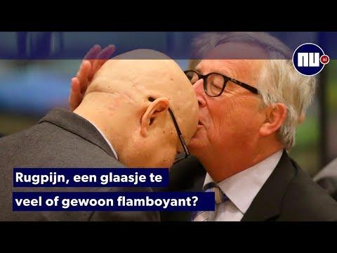 Overzicht: Jean-Claude Juncker en zijn opvallende gedrag