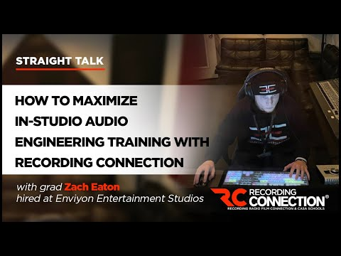 Audio Engineering Training: How to Make the Most of Recording Connection's In-Studio Course