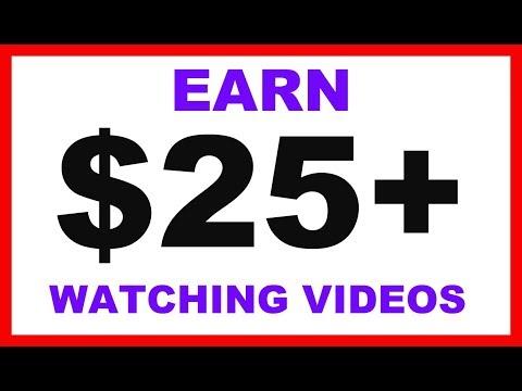 Make Money Watching Videos (Get PayPal Money)