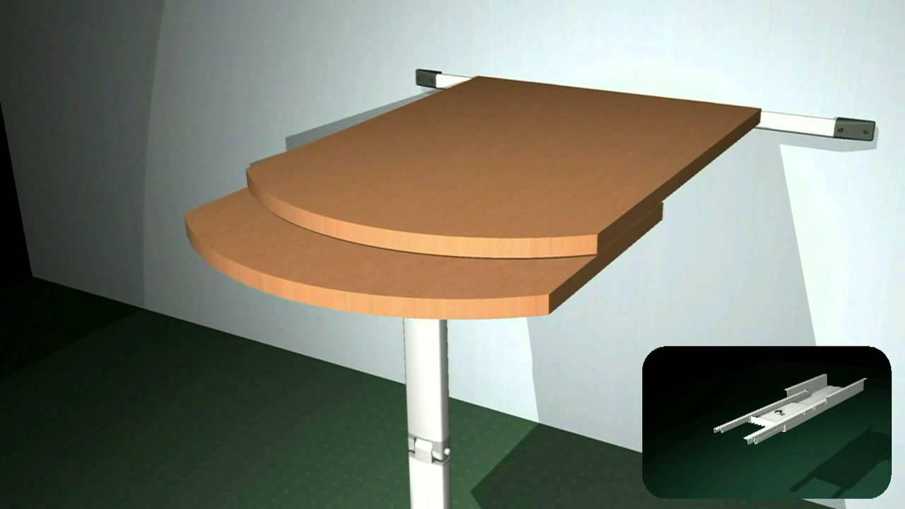 Tavoli Per Camper Allungabili.Stla 15332 Tavolo Tirette3 Youtube