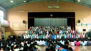 6年生文化集会 2014年5月15日