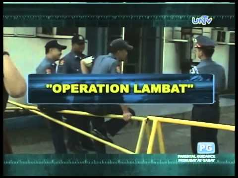 Philippine National Police (PNP) Operations