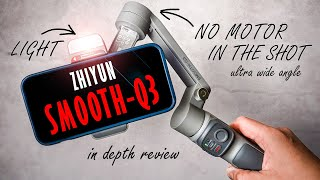 First Smartphone Gimbal of 2021. ZHIYUN SMOOTH Q3 with Android & iPhone in depth review.