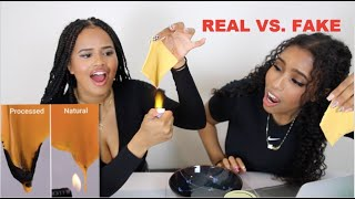 Testing if our food is REAL or FAKE