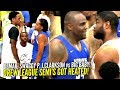 Big Baby vs Nick Young & DeMar GETS SUPER HEATED!! Drew League INTENSE SEMI-FINALS!