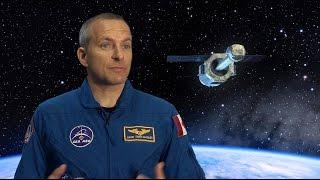 Astronaut David Saint-Jacques explains the ASTRO-H mission