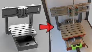 300 kg Steel CNC Machine - Work In Progress