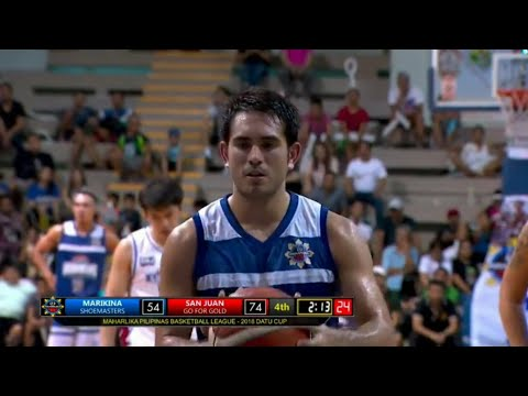Gerald Anderson's Game Highlights vs San Juan Knights  (VIDEO) MPBL Career-High