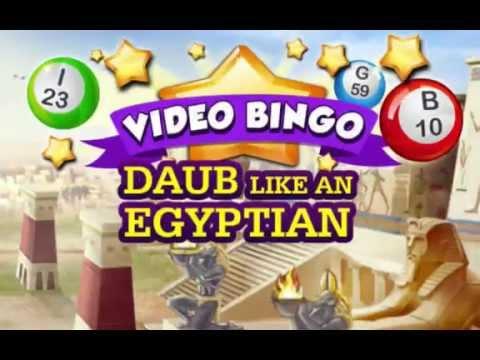 Video Bingo: Daub Like An Egyptian