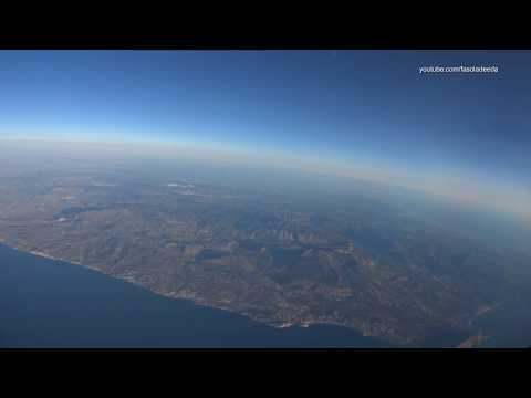 Norwegian Air Boeing 737-800, Alicante ALC to Hannover HAJ, take off, landing, alps, trip report