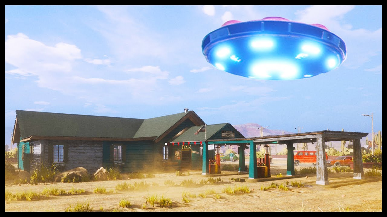 Download UFO's Invade My Gas Station - Gas Station Simulator