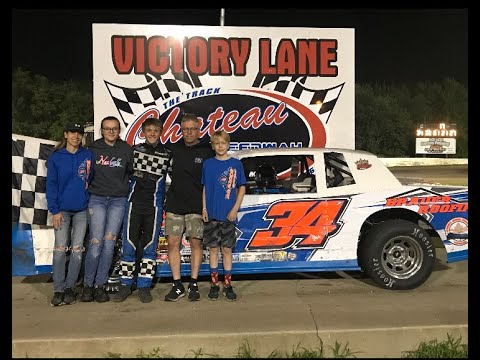 8/2/19 / Chateau Speedway / Street Stocks / First Feature Win