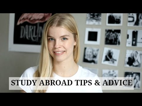 Tips and Advice for Study Abroad Students