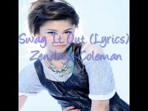 Zendaya Coleman//Swag It Out (Lyrics)