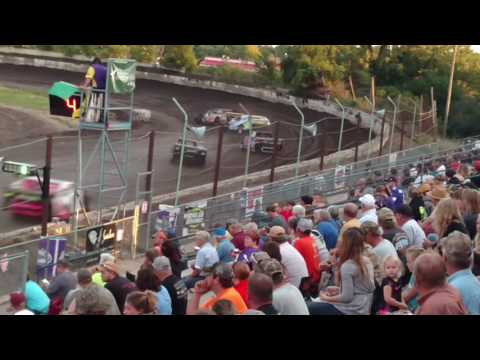 Redwood Speedway Sport Mod heat 9/18/16