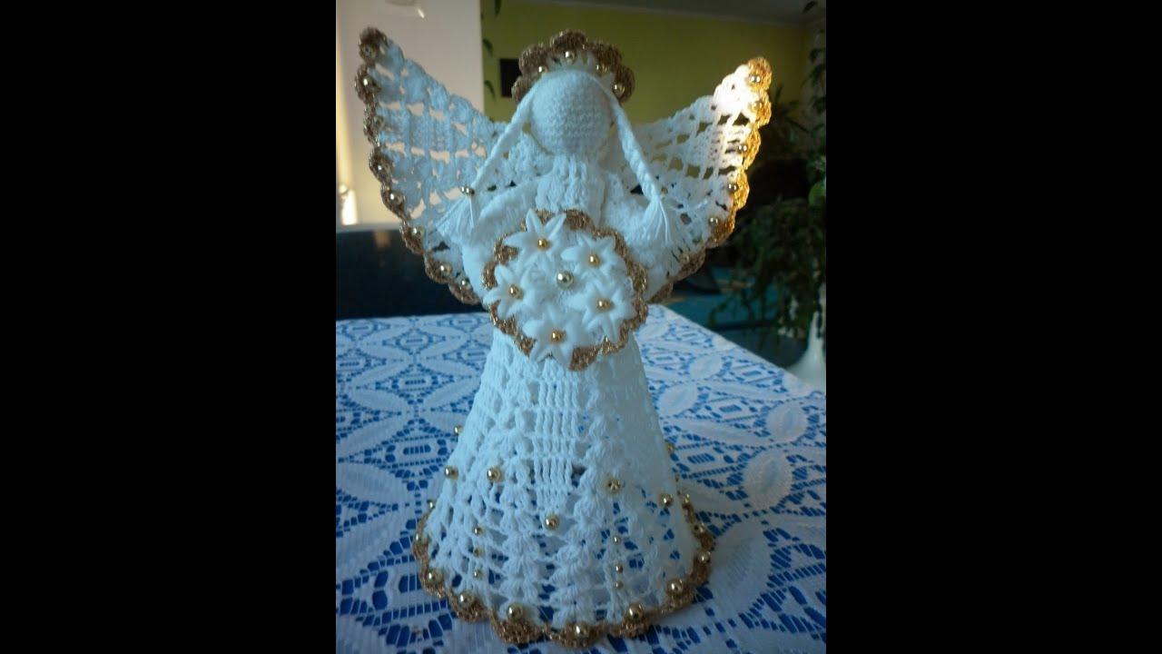 ангелочек схема крючком