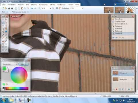 Fotobearbeitung Erweiterte Bearbeitung 2 Teil 2 Pinnacle Studio 14 15 Diaschau