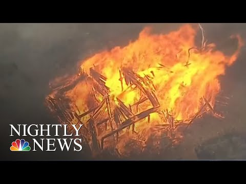 See Story: State Of Emergency As Wildfires Rage Across The West!