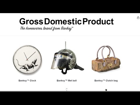 Famous Street Artist Banksy Just Launched a Shopify Store Using Debut Theme thumbnail