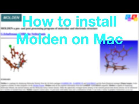 How to install Molden on Mac (OS X High Sierra) from YouTube · Duration:  2 minutes 48 seconds