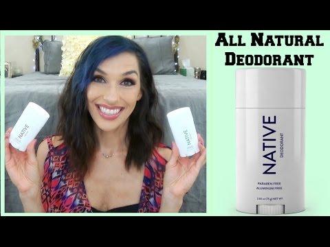 Native Deodorant | All Natural Deodorant Review - YouTube
