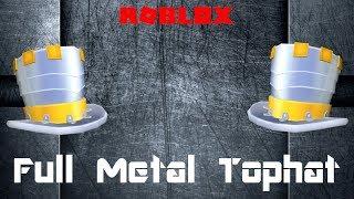 Roblox - Full Metal Tophat (Promo code)