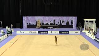 RIZATDINOVA Ganna (UKR) - 2014 Rhythmic Worlds, Izmir (TUR) - Qualifications Clubs