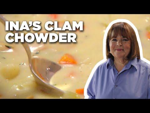 Ina Garten's East Hampton Clam Chowder   Barefoot Contessa   Food Network