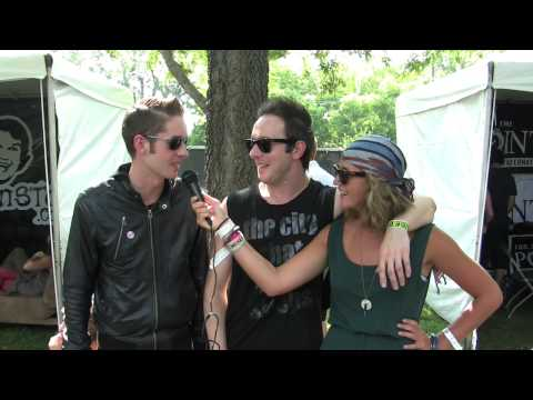 GLASVEGAS interview at Lollapalooza 09 (c6tv)