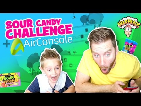 Sour Candy Challenge & AirConsole Games & Family Fun by KIDCITY!