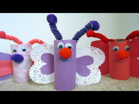 Craft Made From Toilet Paper Rolls
