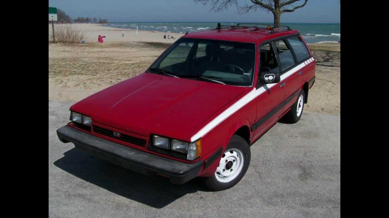 3k In Miles >> 88 Subaru DL Wagon 4wd - YouTube