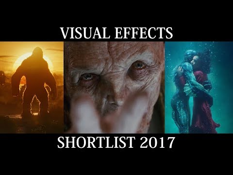 Academy Awards Visual Effects Shortlist Reel 2017