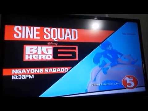 Big Hero 6 Tagalog Dub Commercial on TV5 (Aired on Filipino TV)