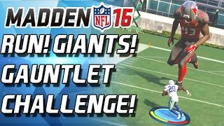 INSANE GIANT CHALLENGE! - Madden 16 Gauntlet(Sponsored by Ronku Madden NFL 16 site: http://bit.ly/1hlRsAJ Madden 16 - Madden 16 Gauntlet! This is my first run through the Gauntlet! Enjoy! The GIANT ..., 2015-08-20T20:00:01.000Z)